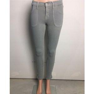 J Brand Women's Designer Denim Olive Green Pants